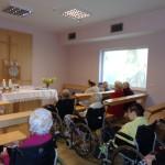 Nabożenstwo w domu seniora pod Opolem